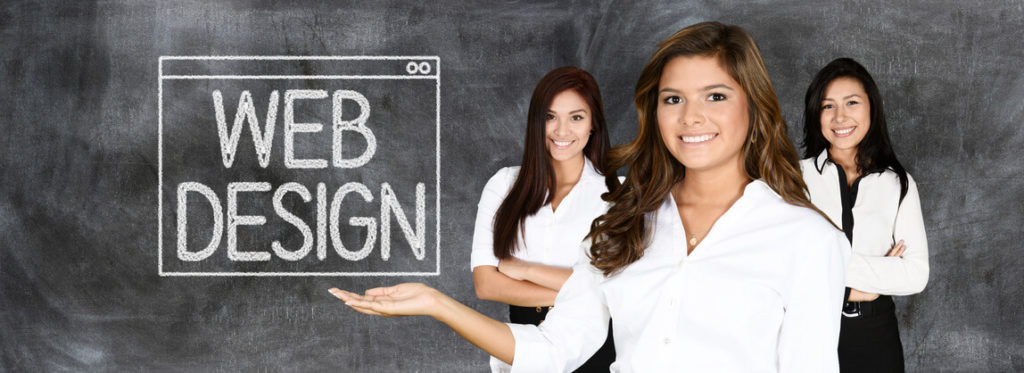 Picture of Young women that are website designers